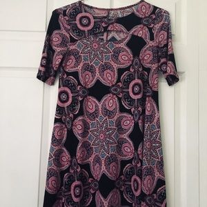 Tee For The soul keyhole paisley dress